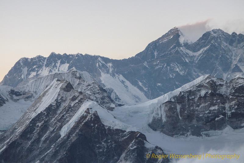Nuptse, Everest, Lhotse