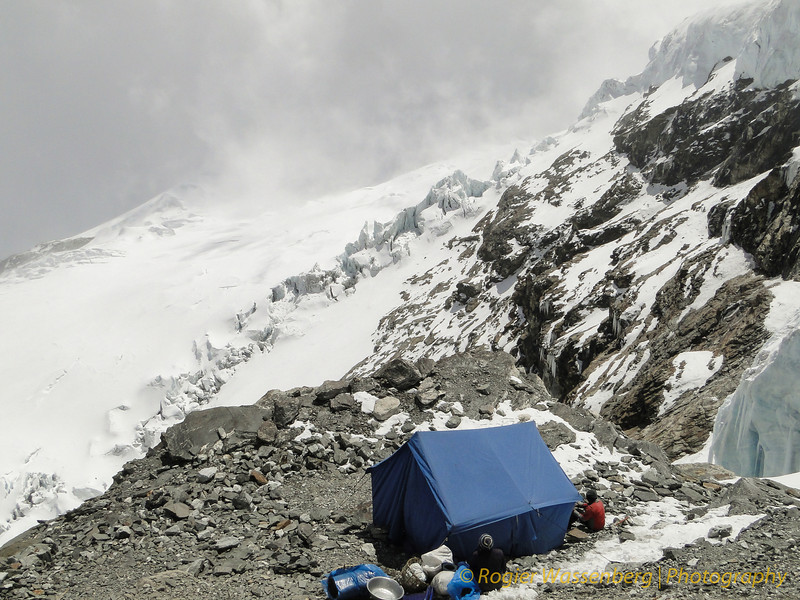 Mera Peak High Camp (5840m)