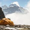 bergen in de Hunku Himal (Chamlang, >7000m)