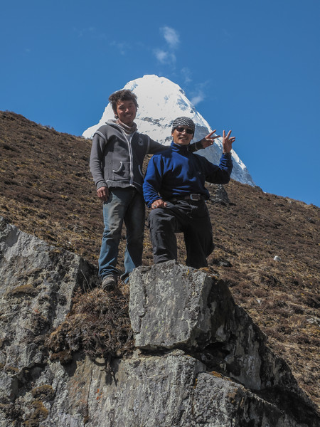 Mingmar - Ang met de Ama Dablam (6812m)