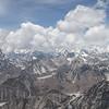 zicht van top Island Peak (W)