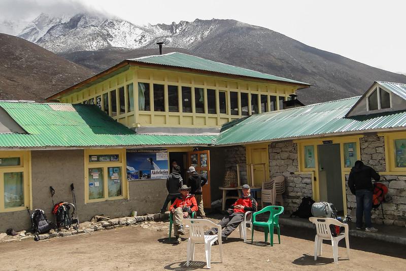 pauze. lodge in Dengboche