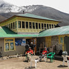 pauze. lodge in Dengboche