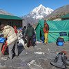 Taboche Peak (6367m) vanuit Chhukung