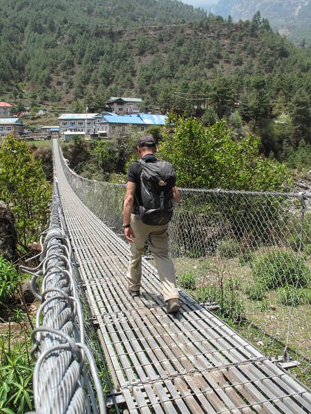 brug bij Phakding