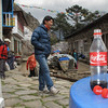 """klein detail: we lopen de """"coca cola trail"""""""