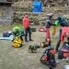 vertrek van Camp Khote (3700m)