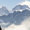 bergen in de Hunku Himal (Chamlang >7000m)