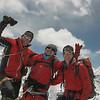 Rogier + Ang + Marijn op top Island Peak
