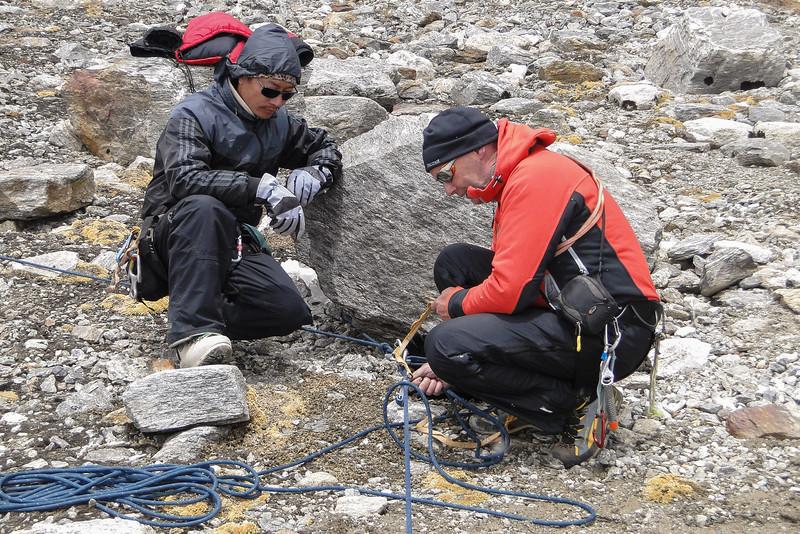 Sherpa bijscholing op reddingstechnieken