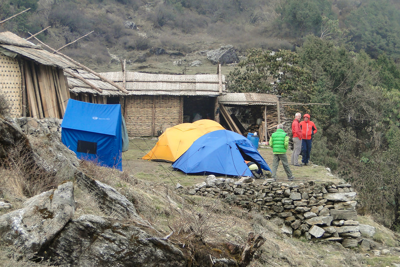 kamp te Chalem Kharka