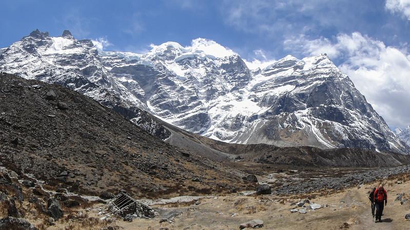 het Mera Peak massief