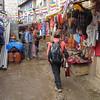 winkelstraat in Namche Bazar