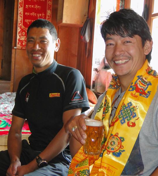 Ang en zijn zwager