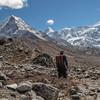 Island Peak en Cho Polu (6734m)