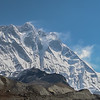 Nuptse, Lotse (8502m) en Island Peak (6190m)