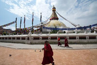 Bodnath Buddhist Stupa