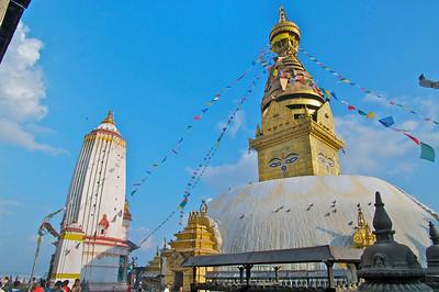 Swayambudnath Buddhist Temple