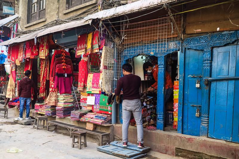 Shopping in Kathmandu