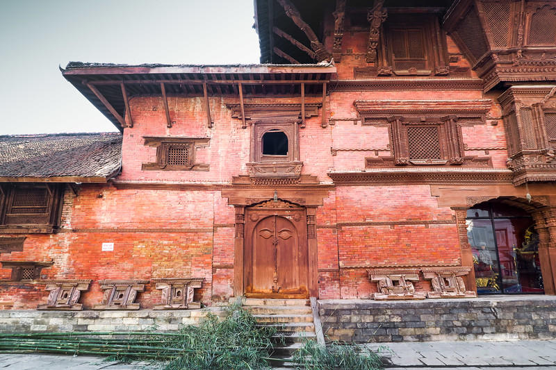 Visiting the sights in Durbar Square, Kathmandu