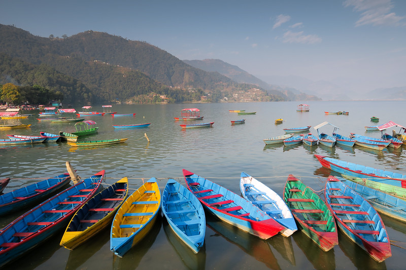 Things to do in Pokhara that don't involve hiking - chilling by the lake!