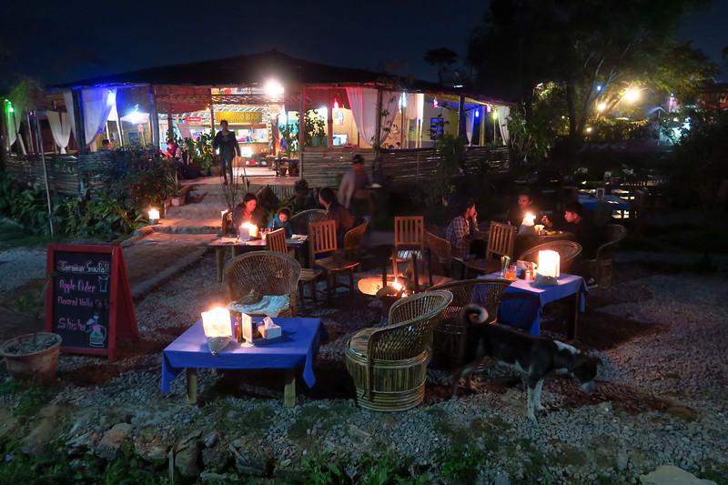 Lakefront bars in Pokhara