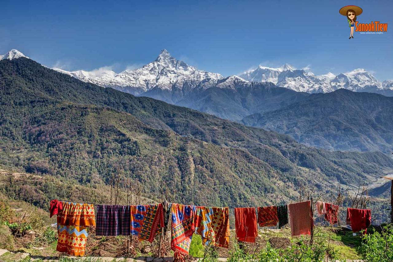 Mardi Himal trekking Nepal เทรคกิ้ง มาดิฮิมาล เนปาล Dhampus