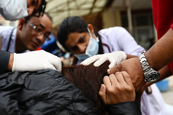 Teaching Hospital Kathmandu, Nepal. (Photo by Mallory Olenius)