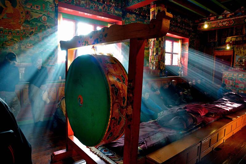 Thyanboche monastery