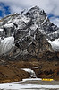 "Base Camp of Lobuche East peak, classified as a ""trekking peak"" in Nepal!"