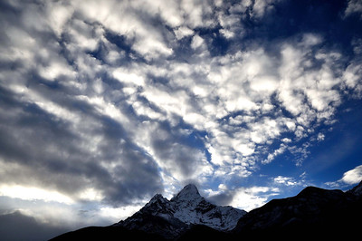 Ama Dablam - Pangboche morning