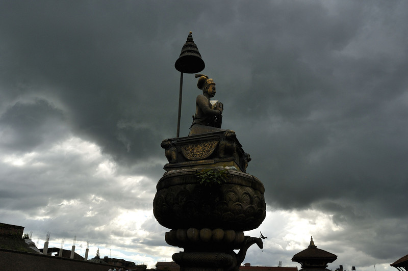 Monsoon evening, Bhaktapur