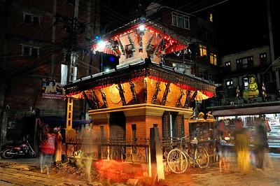 Ganesh Temple near Chettrapati, Thamel