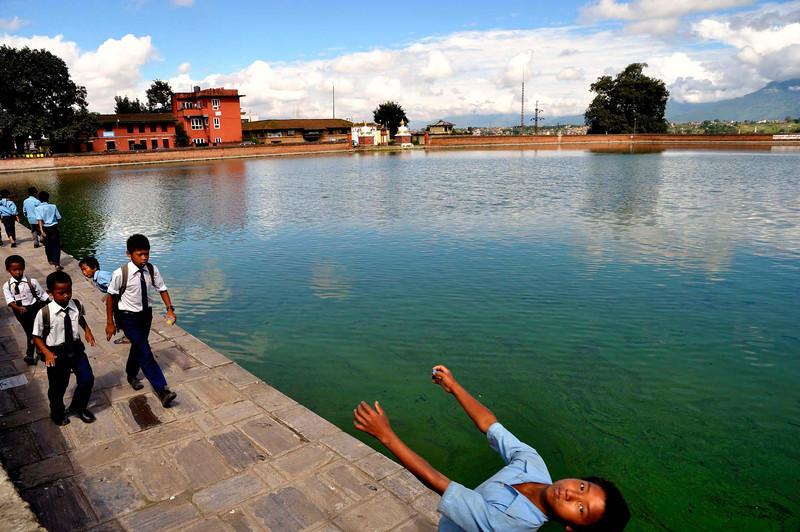 School chidren - Bhaktapur