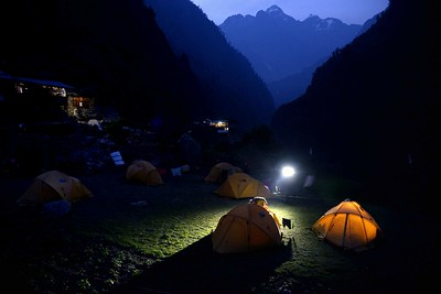 Campsite at Deng