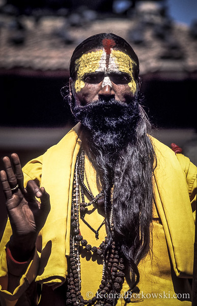 Sadhu monk, Kathmandu, Nepal