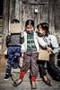 Nepali kids, Kathmandu, Nepal