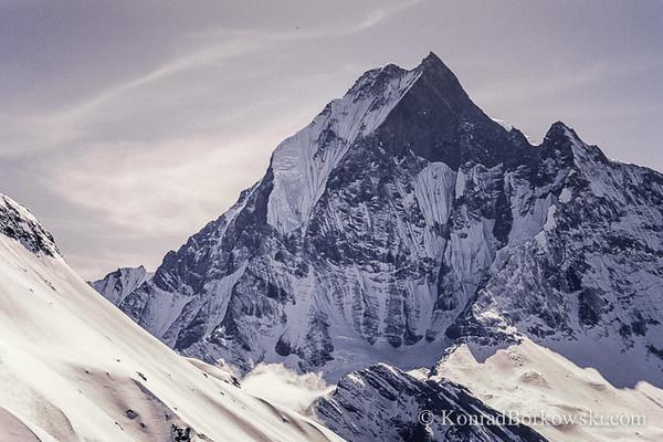 Machapuchare (Fish Tail Mountain), Himalayas, Nepal