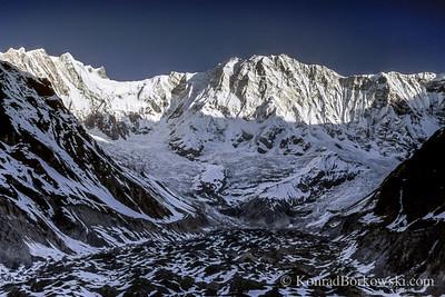 Annapurna I, view from Annapurna Base Camp, Himalayas, Nepal