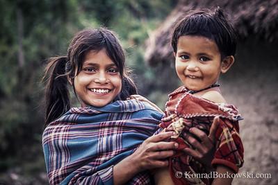 Nepali kids, Pokhara, Nepal