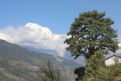 First view of Annapurna South