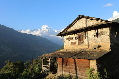 Gurung village house