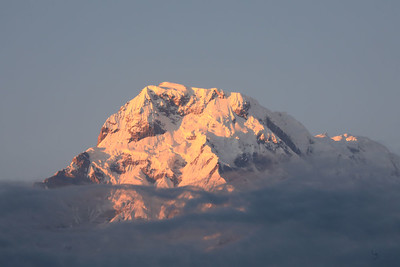 Annapurna South sunrise