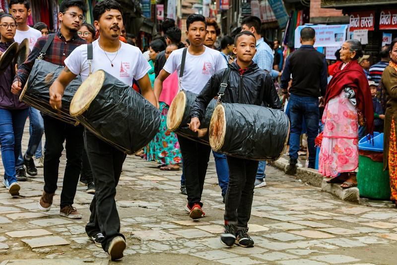 New Year's Day - Kathmandu, Nepal