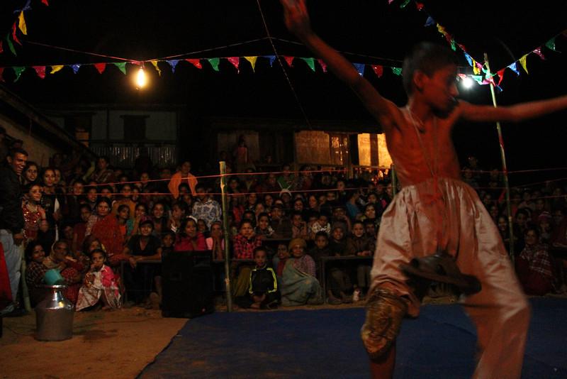 Dashain in Archale. 2012