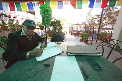 Nepali language class with Sagar