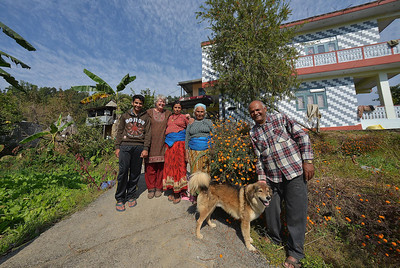 A wealthier homestay in the Pumni Bhundi hills west of Pokhara