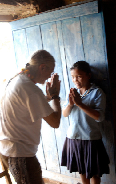 Having been blessed by this student we return the honor with a gift of jewelry.