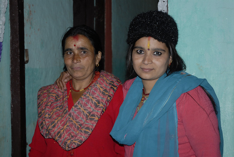 Pratima and her mother Laxmi.