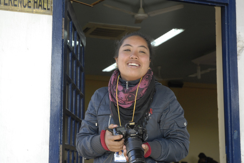 The volunteer photogrpaher, Bijeta Shakya.